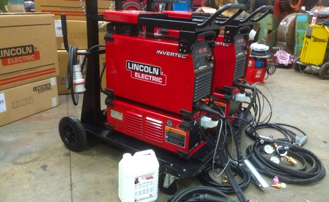 7. Lincoln Electric Invertec 400TPX & Cool Arc 46 Water Cooled TIG Welding Machine