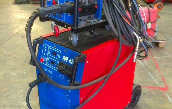 Used New Arc RM 420 415V MIG Welding Machine: Package Deal