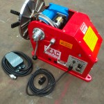 10. 100kg Welding Positioner with 3 Jaw Quick Release Chuck