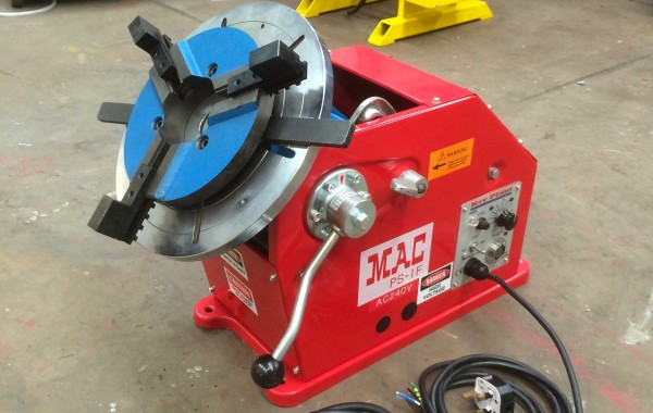 100kg Welding Positioner with 3 Jaw Quick Release Chuck