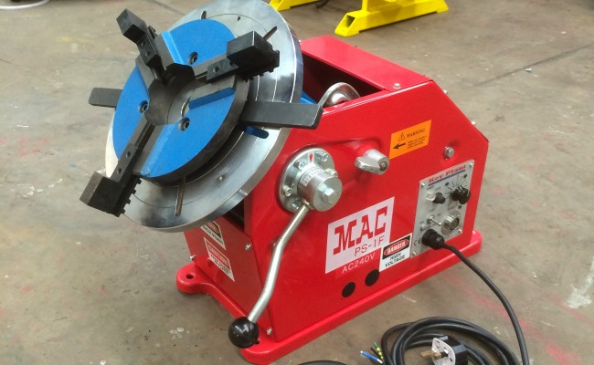 12. 100kg Welding Positioner with 3 Jaw Quick Release Chuck