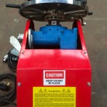 14. 100kg Welding Positioner with 3 Jaw Quick Release Chuck