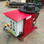 4. 250kg Welding Positioner 110V with Heavy Duty Chuck
