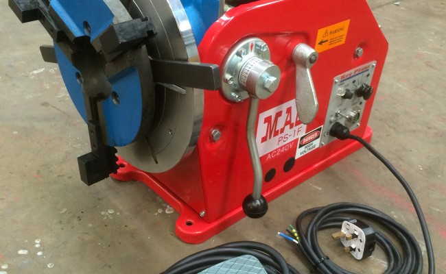 6. 100kg Welding Positioner with 3 Jaw Quick Release Chuck