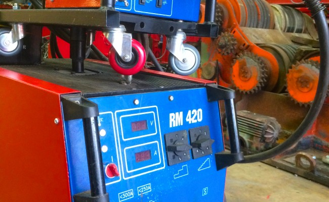 6. Used New Arc RM 420 MIG Welding Machine with 5 Meter Interlink
