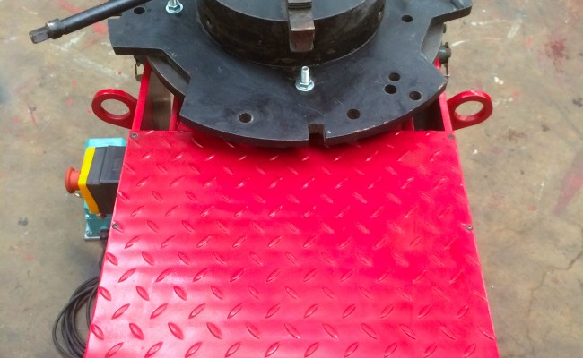 8. 250kg Welding Positioner 110V with Heavy Duty Chuck