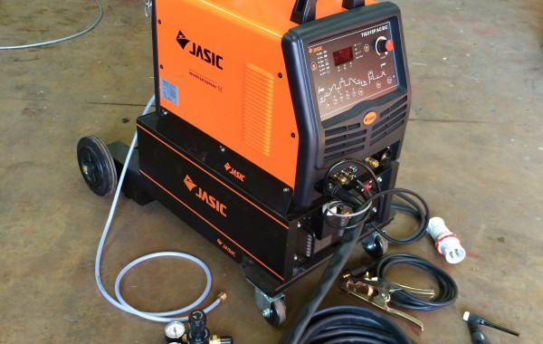 Jasic 315P AC/DC Water Cooled TIG Welder Inverter with Trolley
