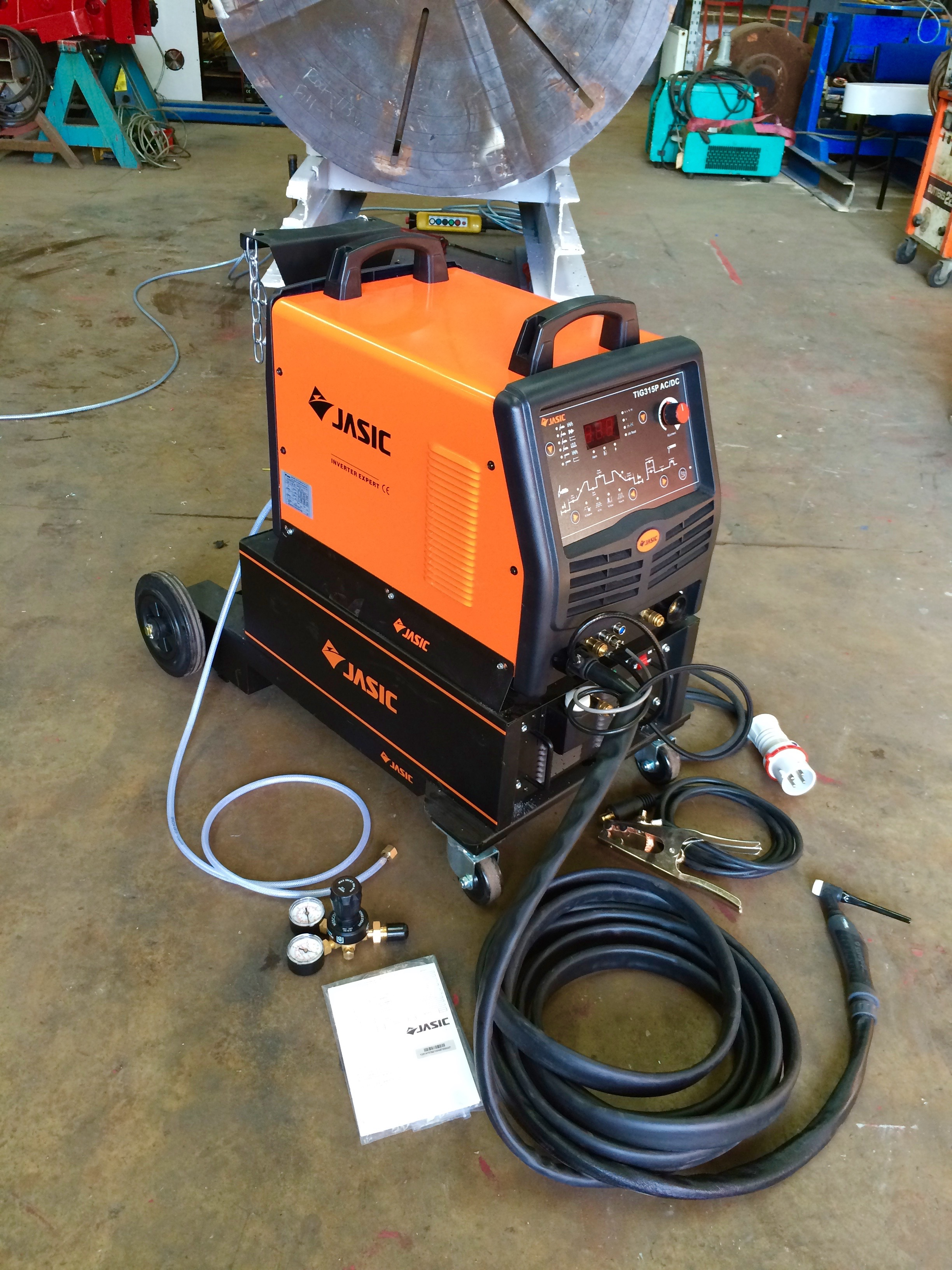 water cooled tig welders spectrum welding supplies jasic 315p ac dc water cooled tig welder inverter trolley