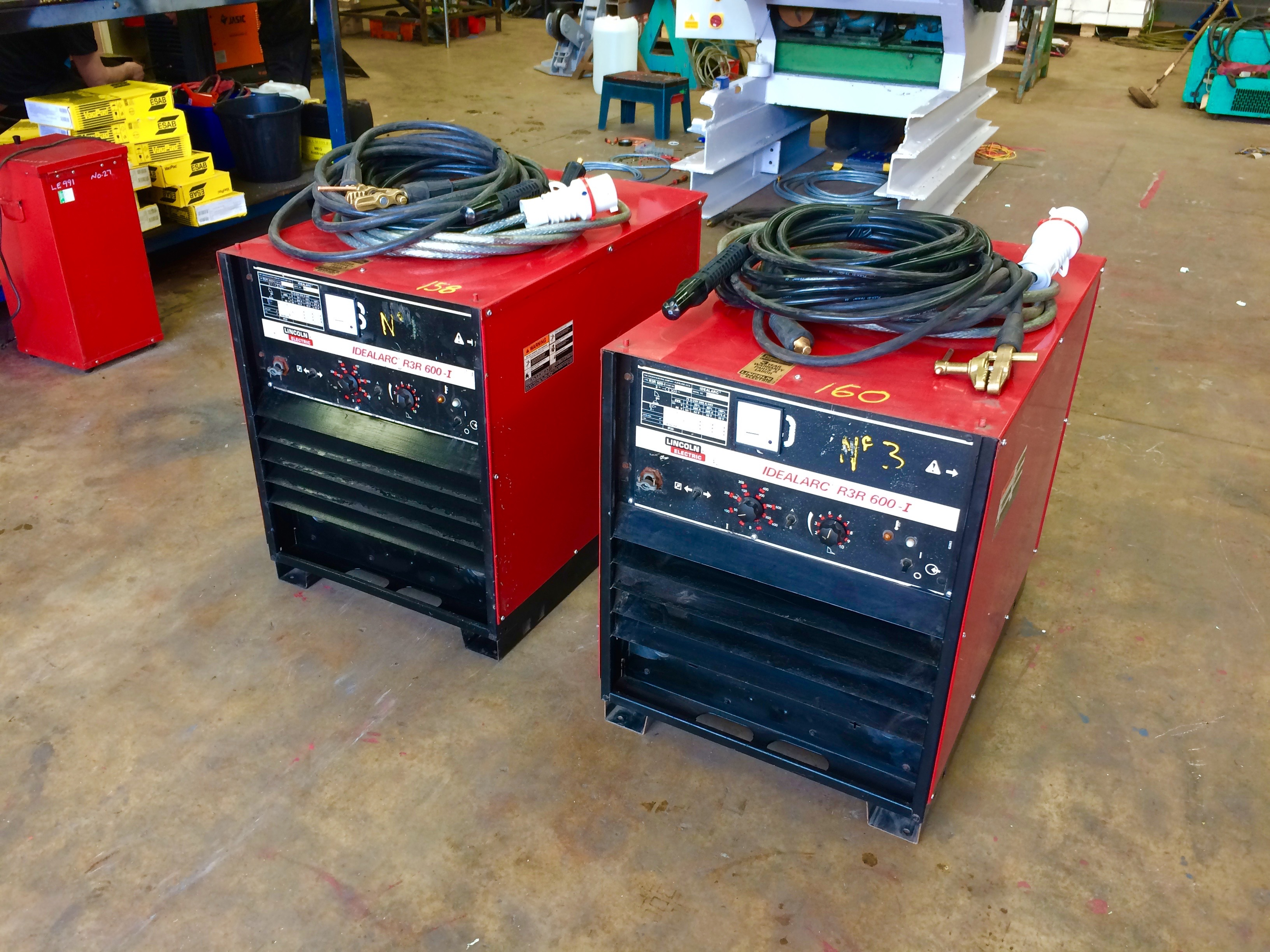 Lincoln Electric Idealarc R3r 600 I Air Arc And Mma