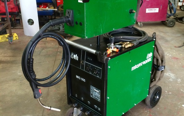 Migatronic MIG 505 Used MIG Welder Complete Package Deal