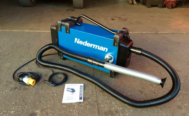 1. Nederman Eliminator 841 Automatic Fume Extractor