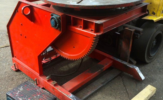 1. Used 2 Tonne Welding Positioner Reconditioned