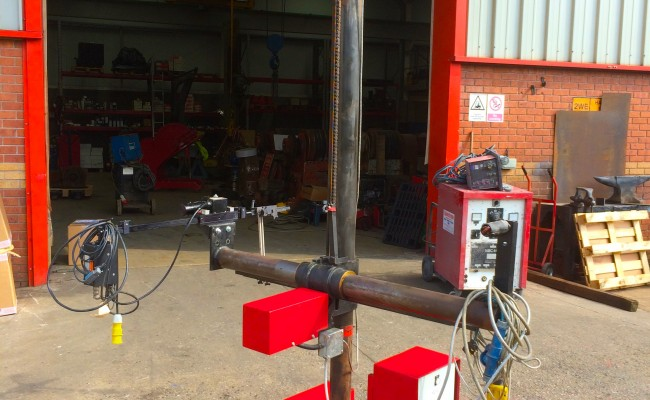 10. Gullco Kat MIG Welding Arm Column and Boom Welding Manipulator