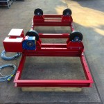 11. 2.5 Tonne Special Welding Rotators on Bespoke Fork Lift Truck Frame