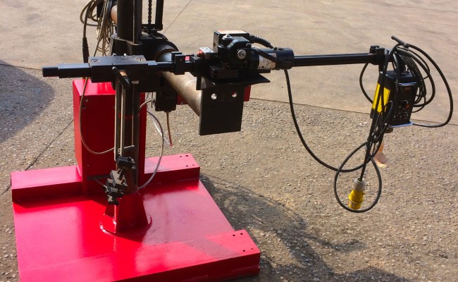 12. Gullco Kat MIG Welding Arm Column and Boom Welding Manipulator