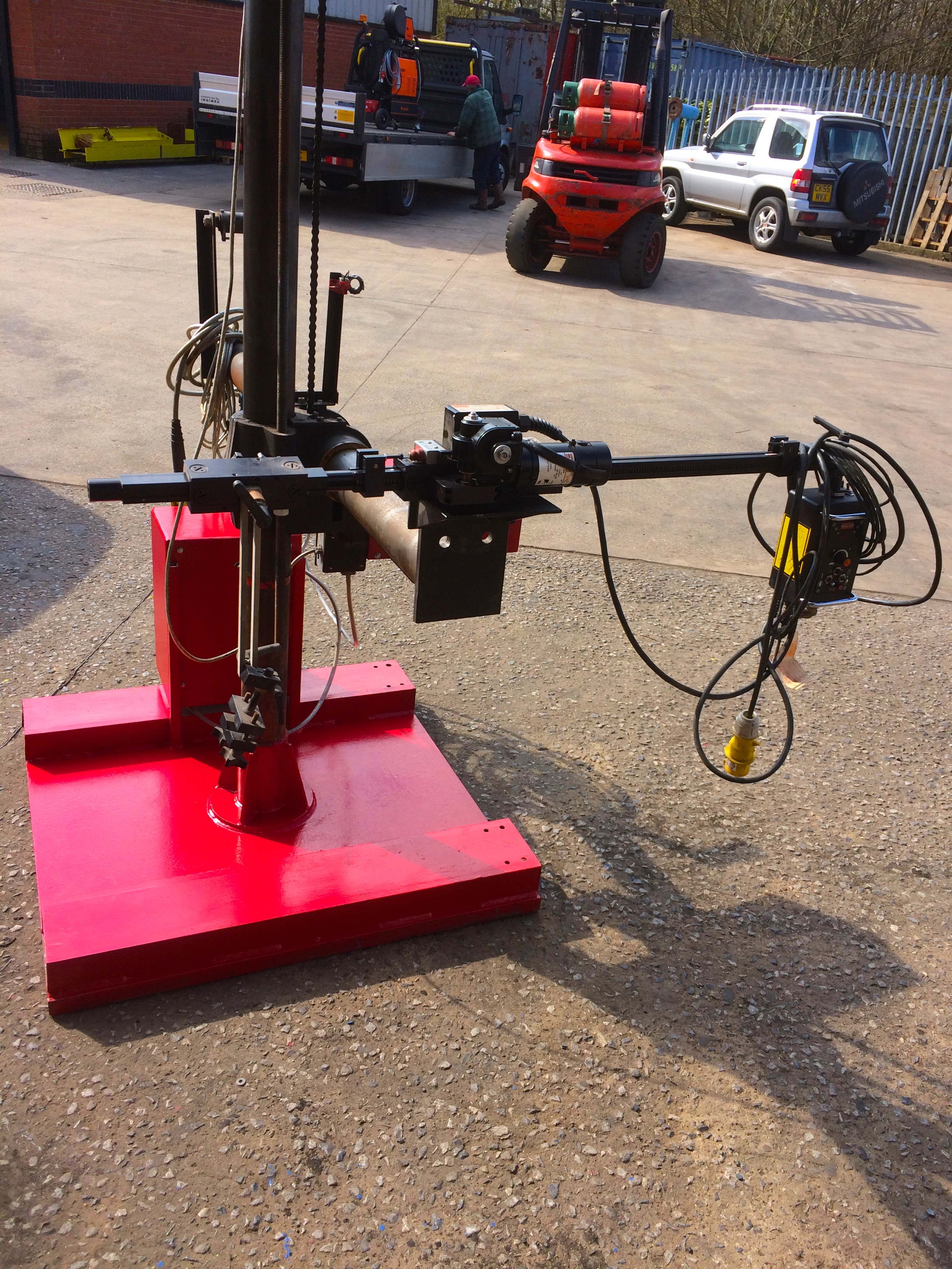 Gullco Kat Remote Control Mig Torch Boom Arm Column And