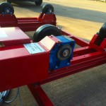 13. 2.5 Tonne Special Welding Rotators on Bespoke Fork Lift Truck Frame