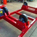 14. 2.5 Tonne Special Welding Rotators on Bespoke Fork Lift Truck Frame