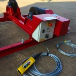15. 2.5 Tonne Special Welding Rotators on Bespoke Fork Lift Truck Frame