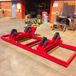 2. 2.5 Tonne Special Welding Rotators on Bespoke Fork Lift Truck Frame