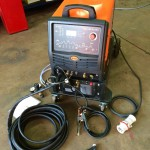 2. Jasic 315P AC:DC Water Cooled TIG Welding Machine with Trolley