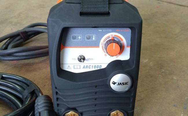 2. Jasic Arc 180 Dual Voltage MMA Stick Welding Machine