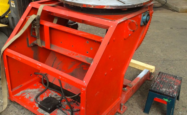 2. Used 2 Tonne Welding Positioner Reconditioned