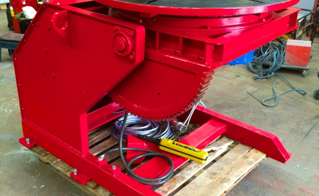 25. Used 2 Tonne Welding Positioner Reconditioned