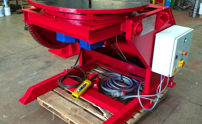 27. Used 2 Tonne Welding Positioner Reconditioned