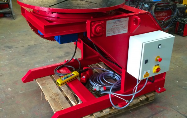 Used 2 Tonne Welding Positioner Reconditioned