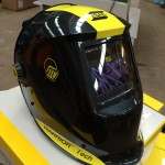 3. ESAB Warrior Tech Air Fed Welding Helmet