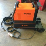 3. Jasic 315P AC:DC Water Cooled TIG Welding Machine with Trolley