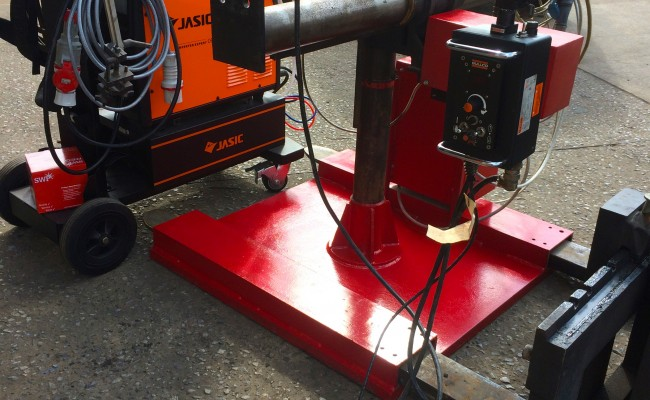 4. Gullco Kat MIG Welding Arm Column and Boom Welding Manipulator