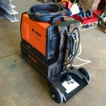 4. Jasic 315P AC:DC Water Cooled TIG Welding Machine with Trolley