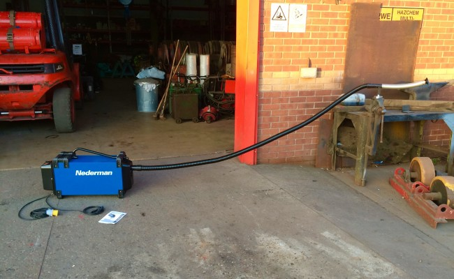 4. Nederman Eliminator 841 Automatic Fume Extractor