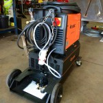 5. Jasic 315P AC:DC Water Cooled TIG Welding Machine with Trolley