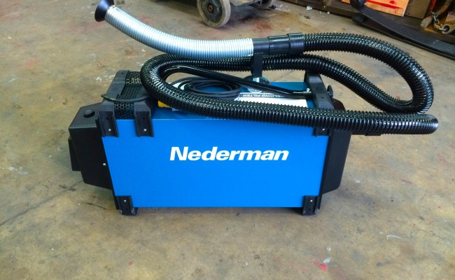 5. Nederman Eliminator 840 Briefcase Fume Extractor