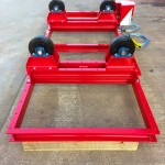 6. 2.5 Tonne Special Welding Rotators on Bespoke Fork Lift Truck Frame