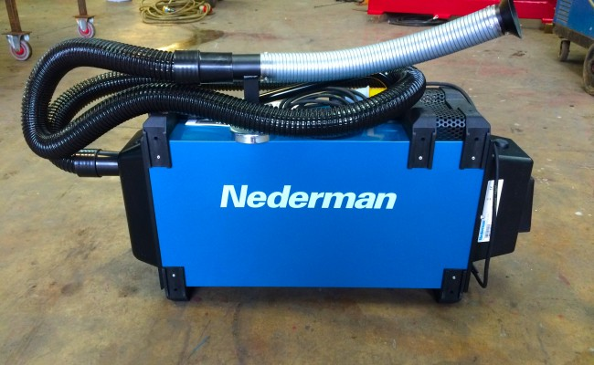 6. Nederman Eliminator 840 Briefcase Fume Extractor