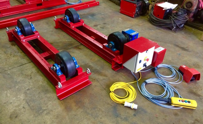 1. 5 Tonne Welding Rotators Long Frame Model
