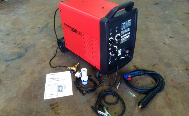 1. Sealey SuperMIG 180 MIG Welding Machine Package