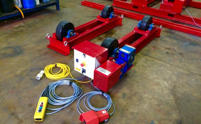 2. 5 Tonne Welding Rotators Long Frame Model