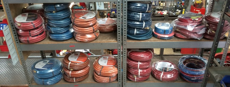 Oxygen, Propane and Acetylene High Pressure Hoses and Fittings