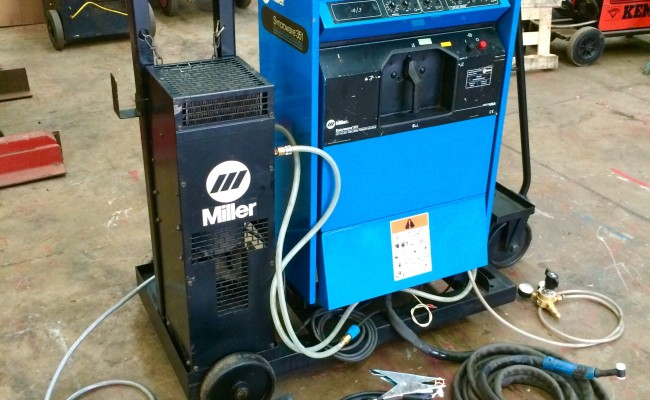 2. Miller Syncrowave 351 ACDC Digital Water Cooled TIG Welding Machine