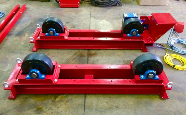 4. 5 Tonne Welding Rotators Long Frame Model