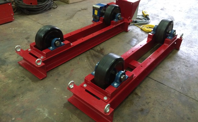 5. 5 Tonne Welding Rotators Long Frame Model