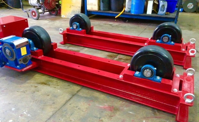 6. 5 Tonne Welding Rotators Long Frame Model