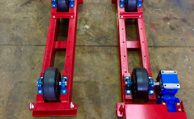 7. 5 Tonne Welding Rotators Long Frame Model