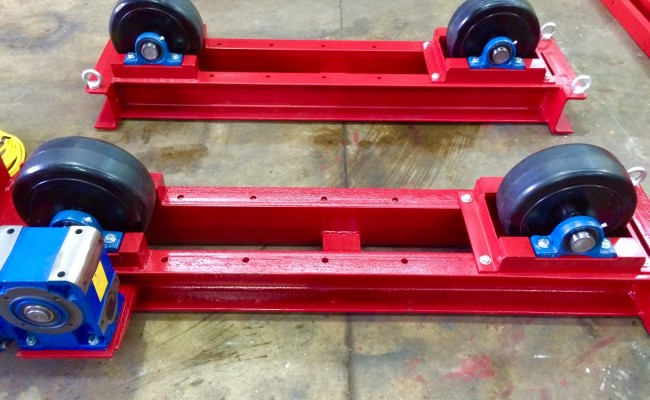 8. 5 Tonne Welding Rotators Long Frame Model