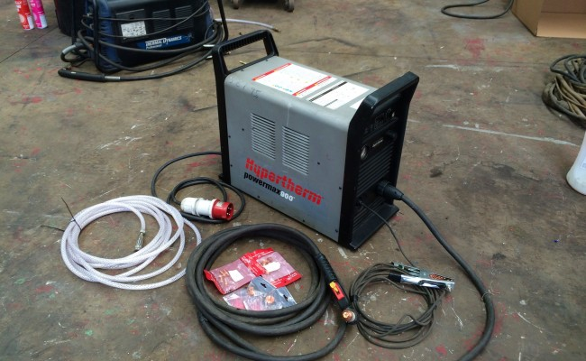 1. Hypertherm Powermax 900 Plasma Cutter 415V